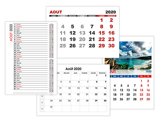 Calendrier Juillet Aout 2020.Calendrier Aout 2020 Calendrier Su