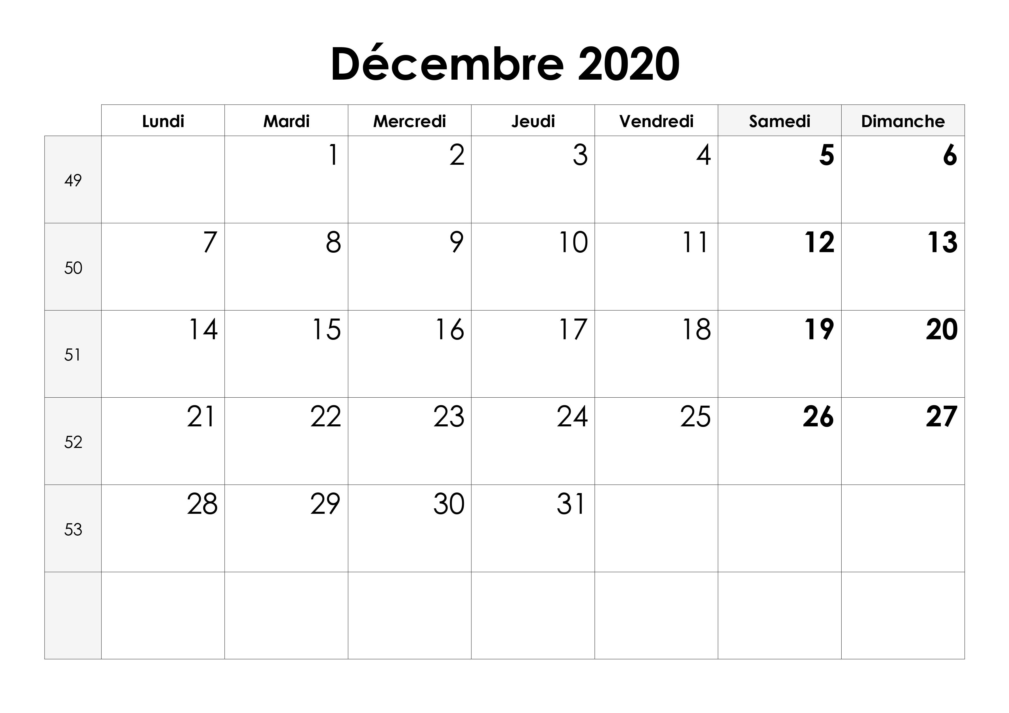 Calendrier Decembre 2020.Calendrier Decembre 2020 Calendrier Su