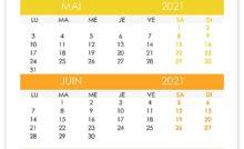 Calendrier avril, mai, juin, juillet 2022 – calendrier.su