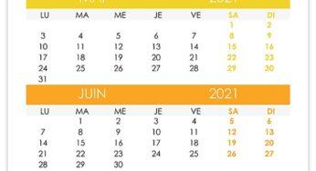 2021 – calendrier.su